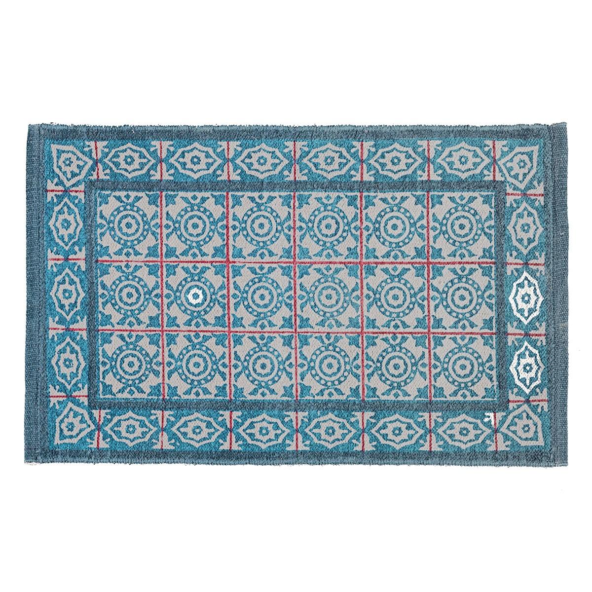 Πατάκι Μπάνιου (50×80) Nima Vista Benazir 01 Blue