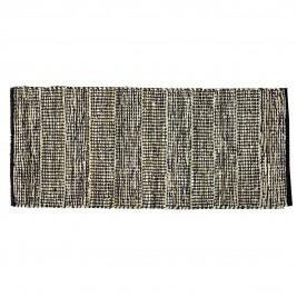 Δερμάτινο Χαλάκι (60x130) Nima Passaporte Carbone