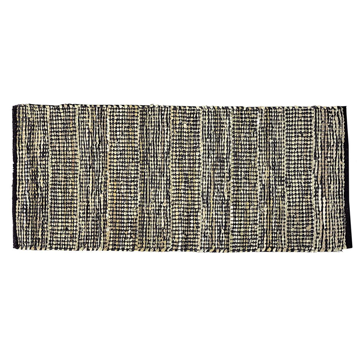 Δερμάτινο Χαλάκι (60×130) Nima Passaporte Carbone