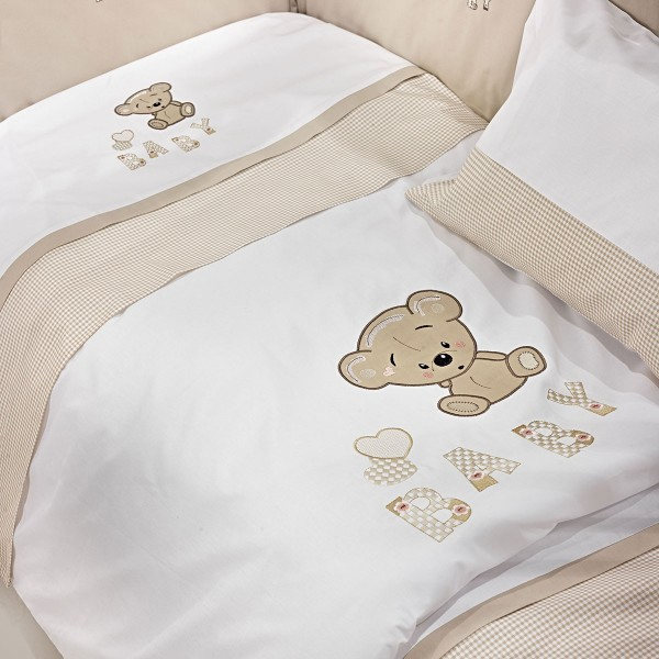 Πάπλωμα Κούνιας Nima Mama-Dada Baby Teddy