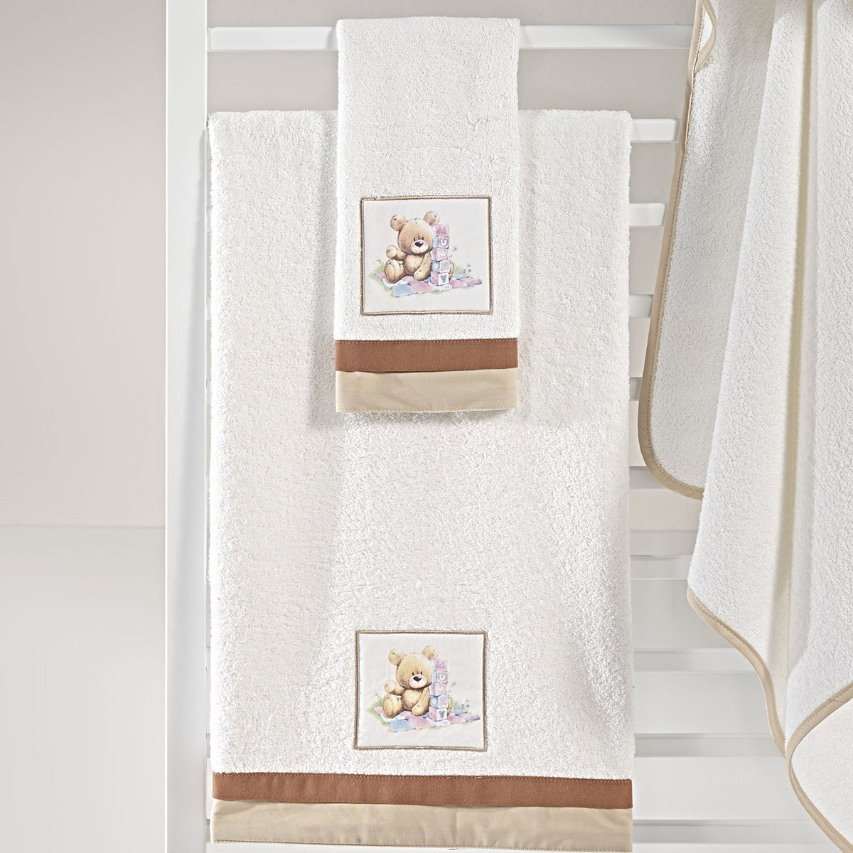 Βρεφικές Πετσέτες (Σετ 2τμχ) Nima Mama-Dada Dodo