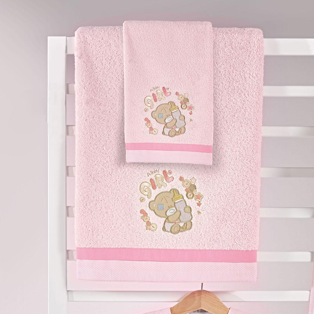 Βρεφικές Πετσέτες (Σετ 2τμχ) Nima Mama-Dada Frou Frou
