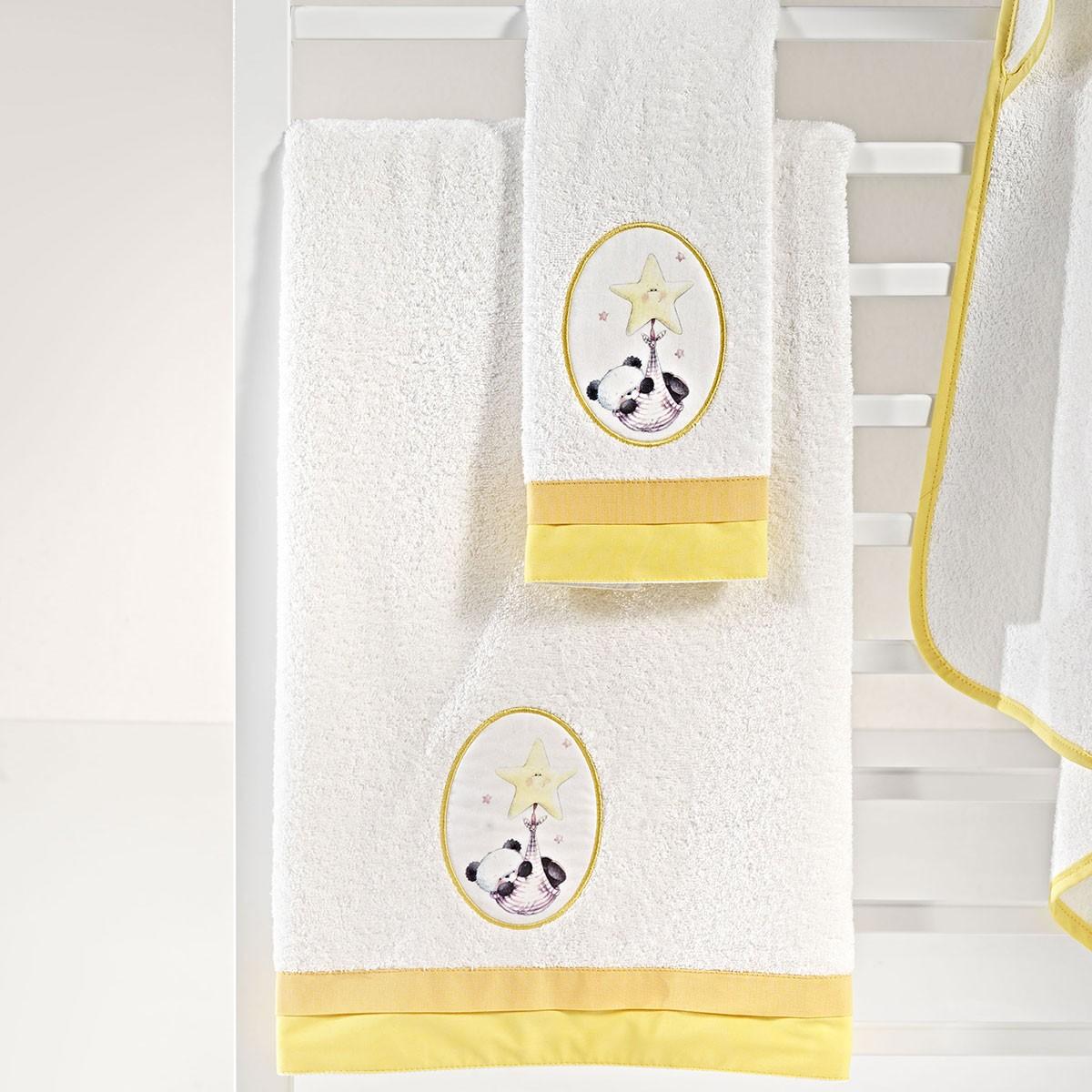 Βρεφικές Πετσέτες (Σετ 2τμχ) Nima Mama-Dada Huggy