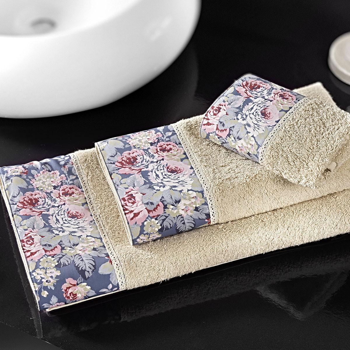 Πετσέτες Μπάνιου (Σετ 3τμχ) Nima Pintado Blossomtime