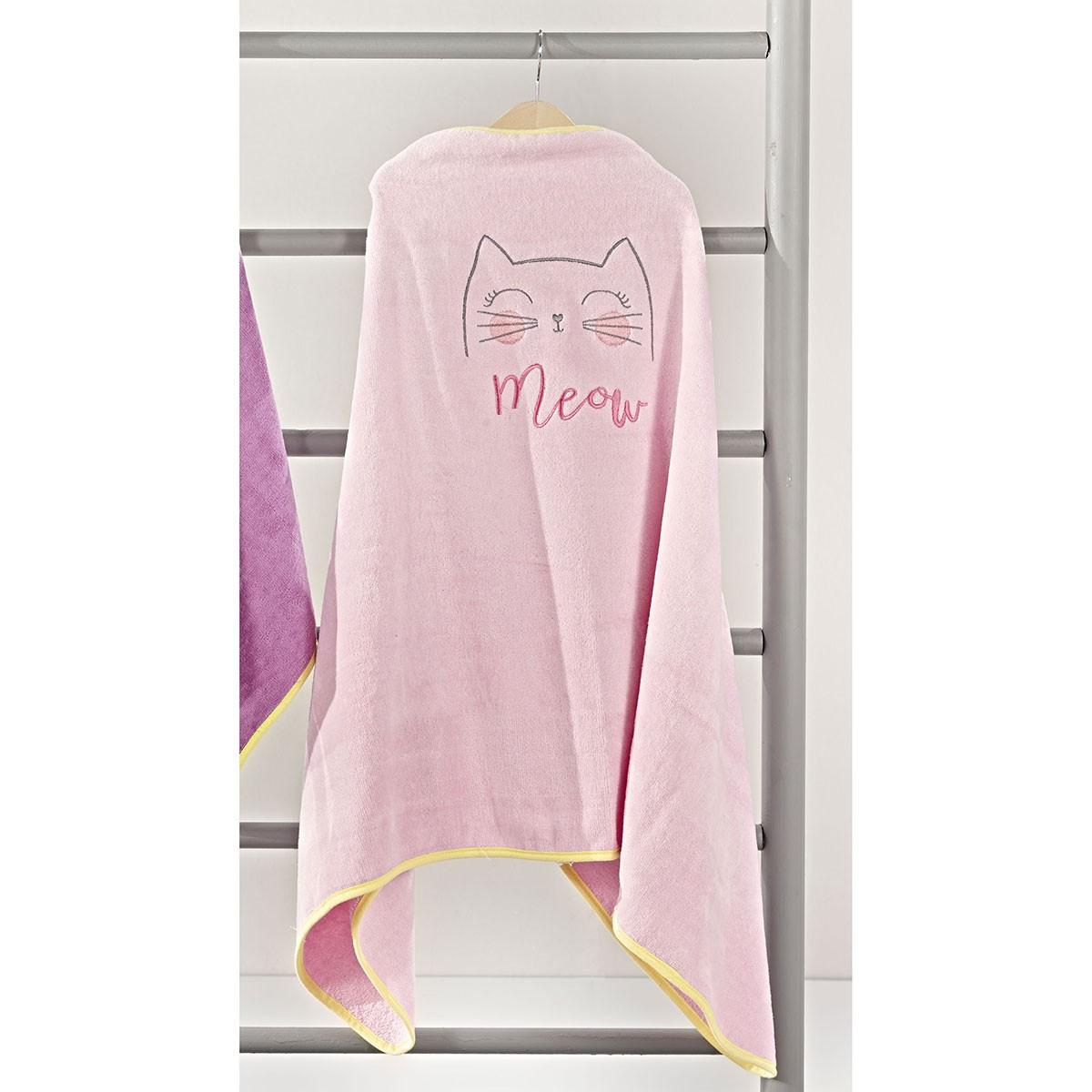 Παιδική Πετσέτα – Κάπα Nima Rig Zig Zig Meow 01