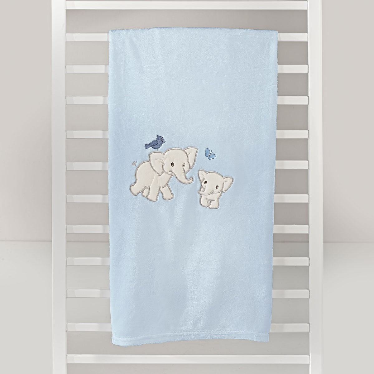 Κουβέρτα Fleece Κούνιας Nima Hoot Poppet 01