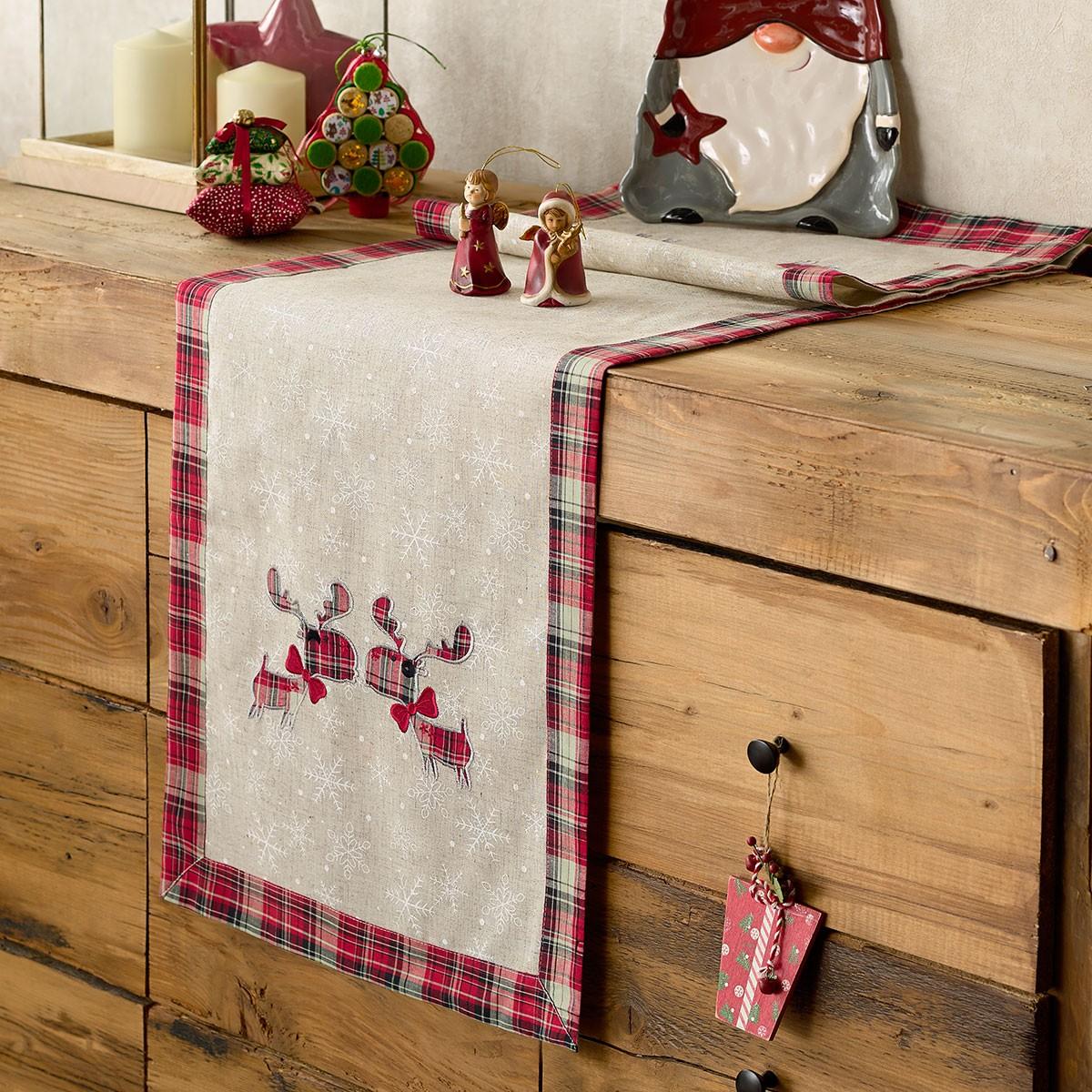 Χριστουγεννιάτικη Τραβέρσα Gofis Home 232