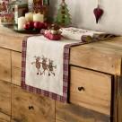 Χριστουγεννιάτικη Τραβέρσα Gofis Home Eggnog 882