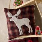 Χριστουγεννιάτικη Μαξιλαροθήκη Gofis Home Vixen 009