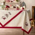 Χριστουγεννιάτικο Τραπεζομάντηλο (135×135) Gofis Home Presents 9
