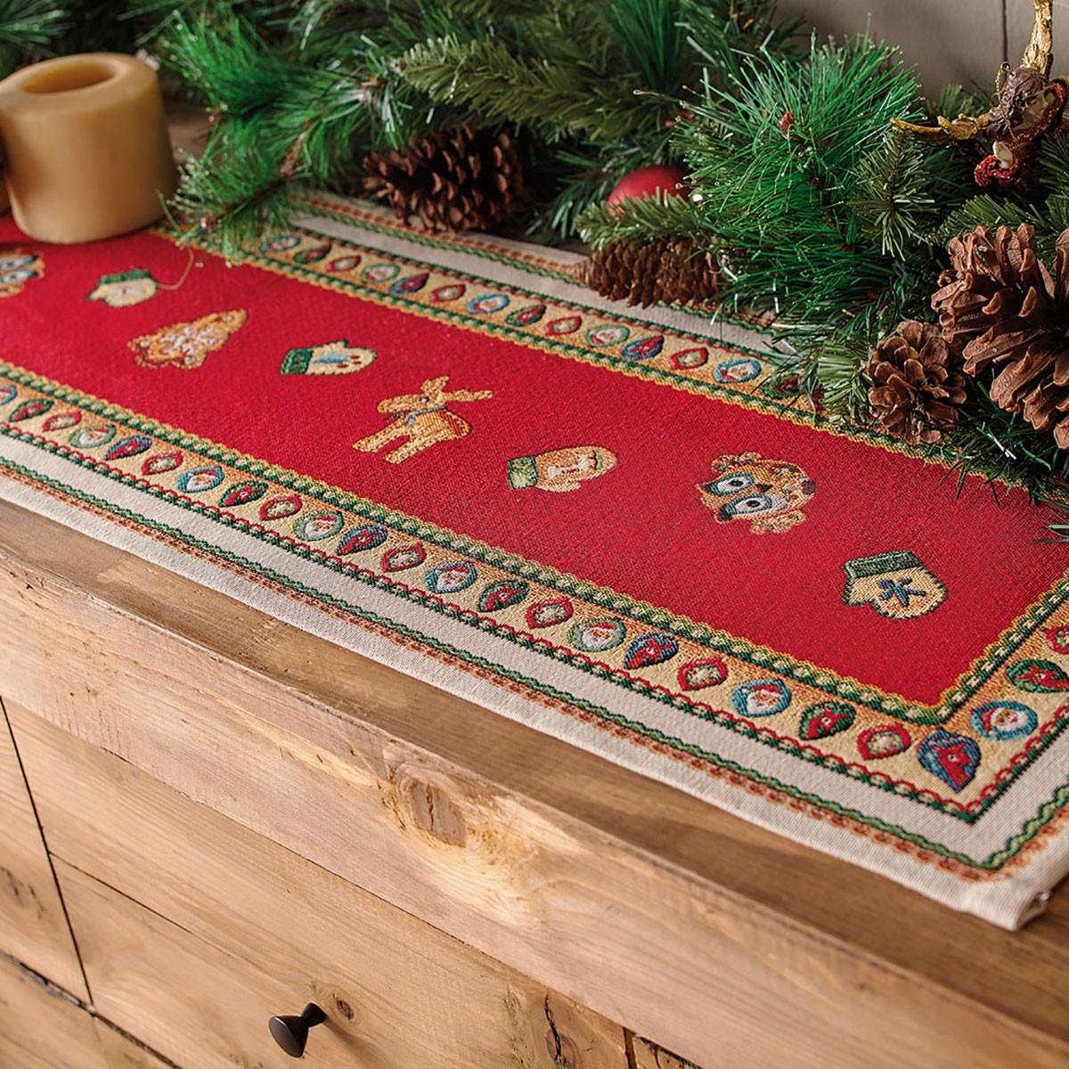 Χριστουγεννιάτικη Τραβέρσα Gofis Home Carrol 204