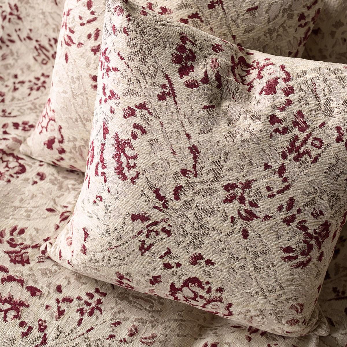 Διακοσμητική Μαξιλαροθήκη Gofis Home Casbah Bordeaux 326/02
