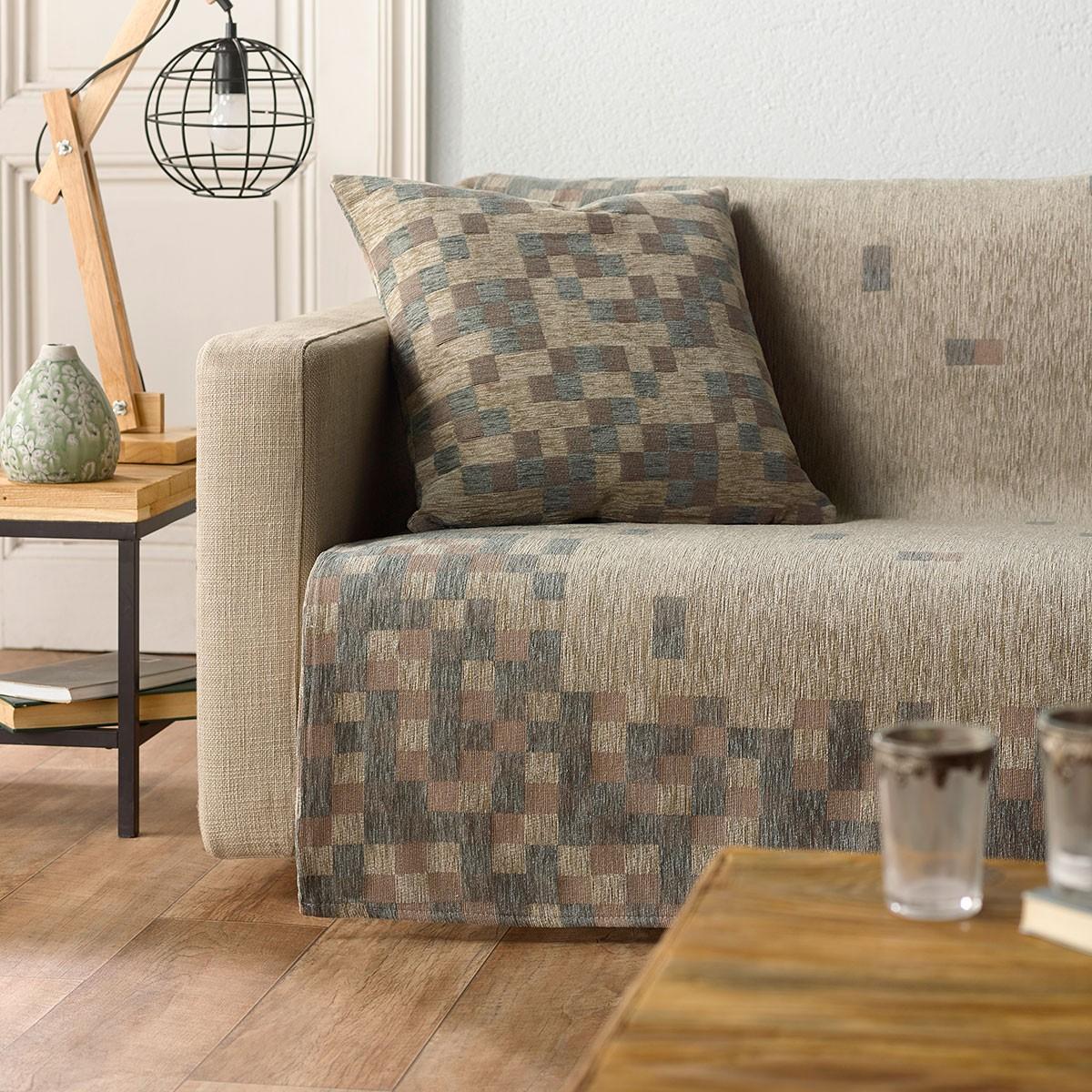 Ριχτάρι Τετραθέσιου (180x350) Gofis Home Arcade Grey 776/15 home   σαλόνι   ριχτάρια καναπέ