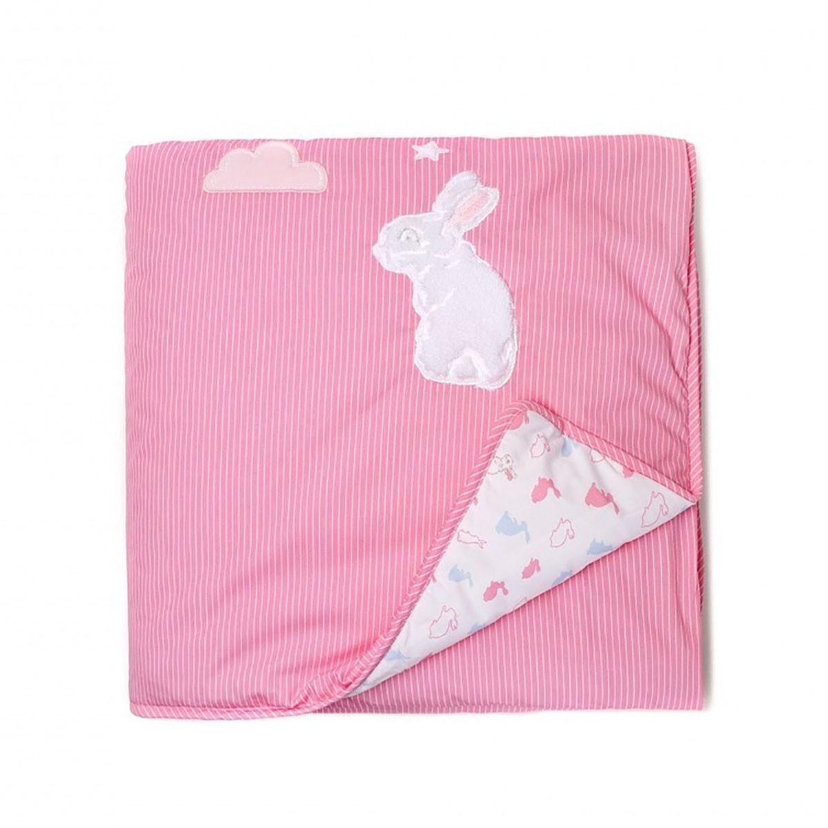 Κουβερλί Κούνιας Laura Ashley Bunny Rabbit home   βρεφικά   κουβερλί βρεφικά