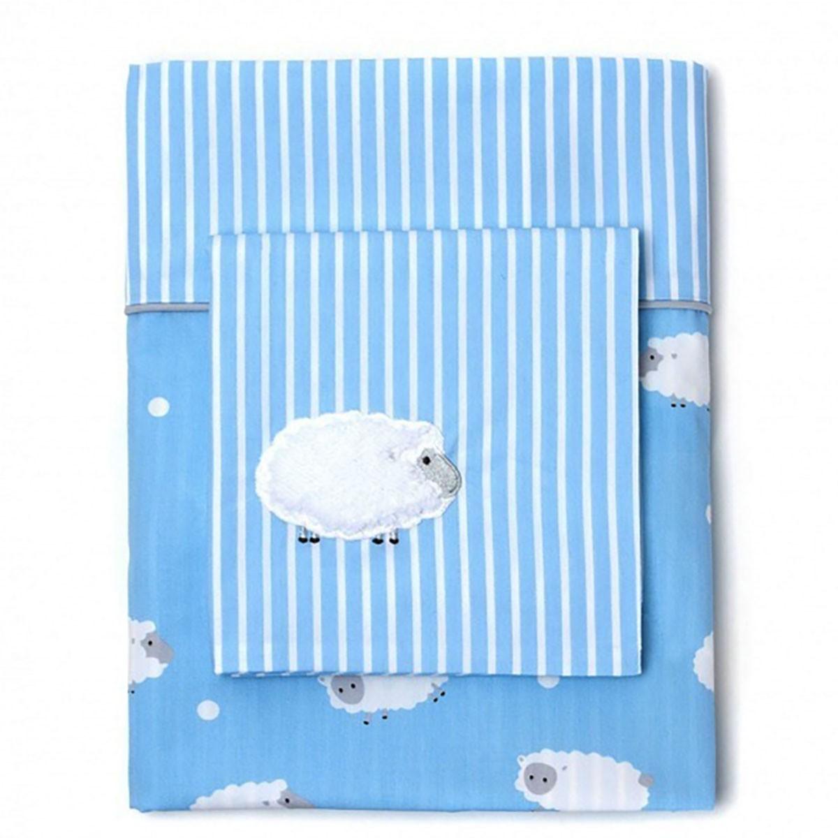 Παπλωματοθήκη Κούνιας (Σετ) Laura Ashley Little Sheep