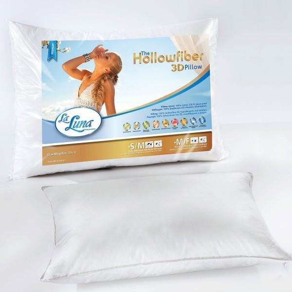 Μαξιλάρι Ύπνου La Luna Hollowfiber 3D Medium/Firm