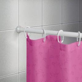 Βραχίονας Μπάνιου Πτυσσόμενος 75-135cm Joy Bath White