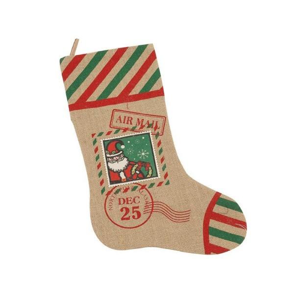 Χριστουγεννιάτικη Κάλτσα InArt Air Mail 2-40-300-0017