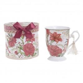 Χριστουγεννιάτικη Κούπα InArt Poinsettia 2-60-952-0008