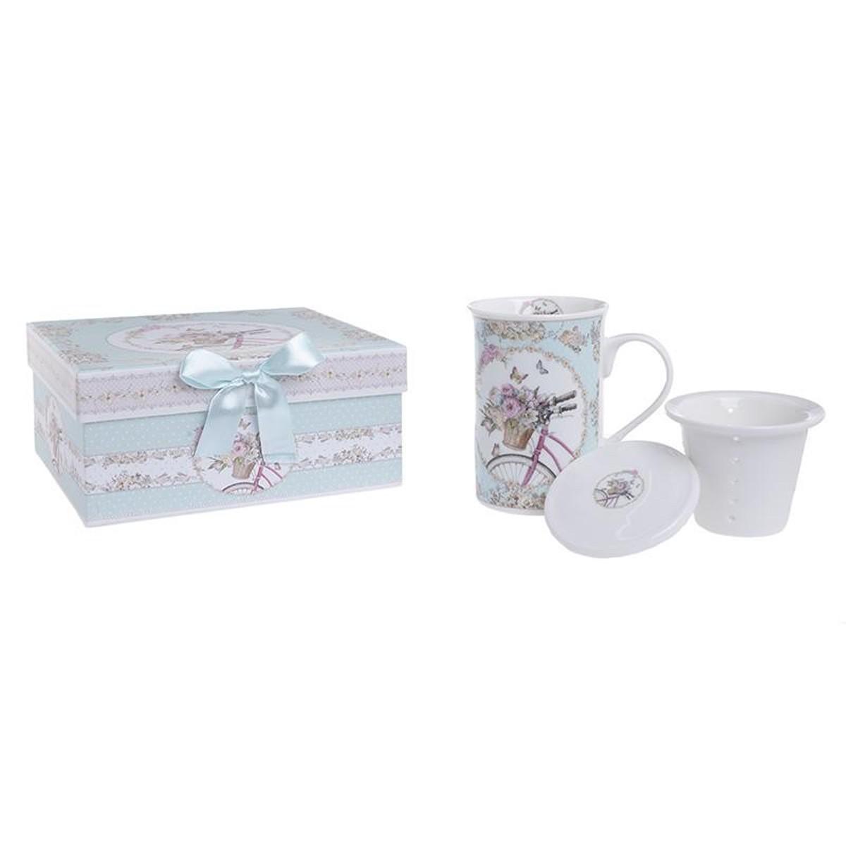 Κούπα (Σετ Με Φίλτρο) InArt Tea Time 3-60-952-0075