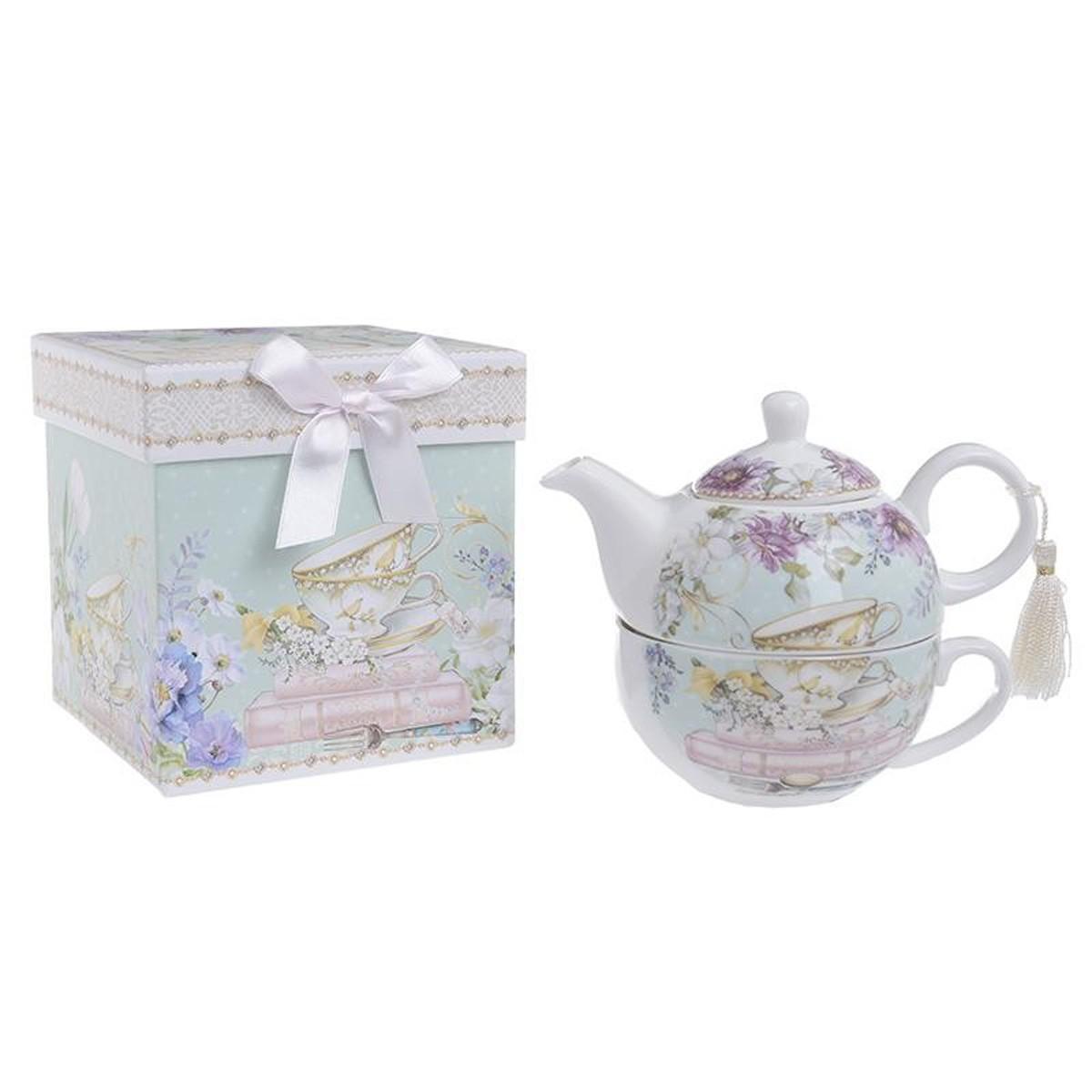 Τσαγερό-Κούπα InArt Tea Time 3-60-952-0077