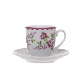 Φλυτζάνια Καφέ (Σετ 6τμχ) InArt Matilda 3-60-140-0098
