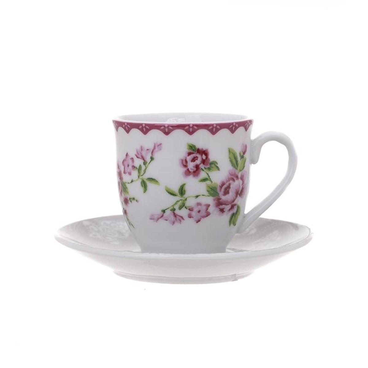 Φλυτζάνια Καφέ (Σετ 6τμχ) InArt Matilda 3-60-140-0098 58490