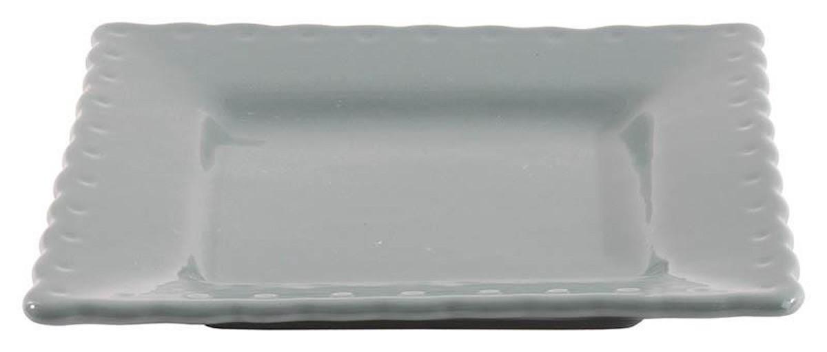 Πιάτα Φαγητού (Σετ 6τμχ) InArt Piedra Petrol 3-60-520-0010
