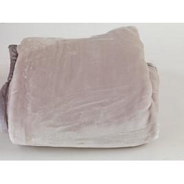 Κουβέρτα Βελουτέ Υπέρδιπλη Palamaiki Dream Velour Grey