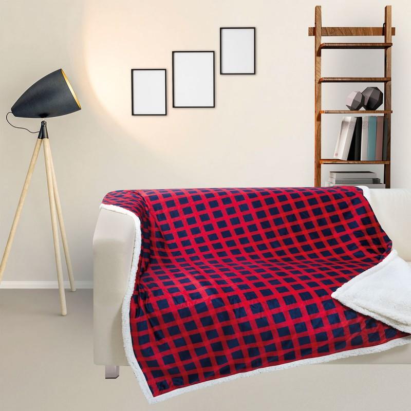 Κουβέρτα Καναπέ Das Home Fleece Digital 369