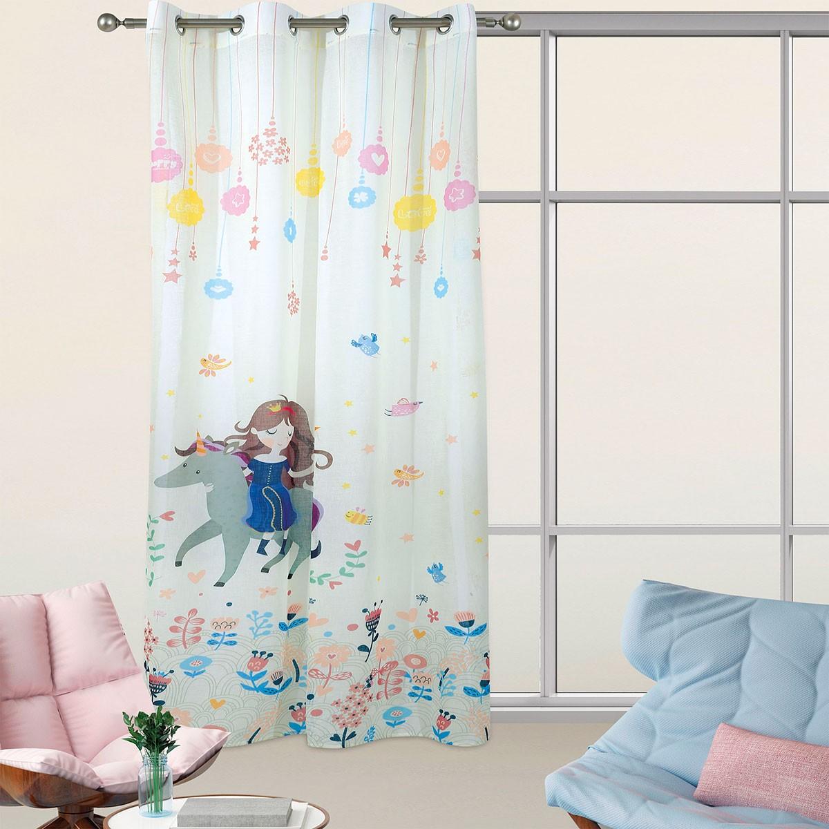 Παιδική Κουρτίνα (140×280) Das Home 2065