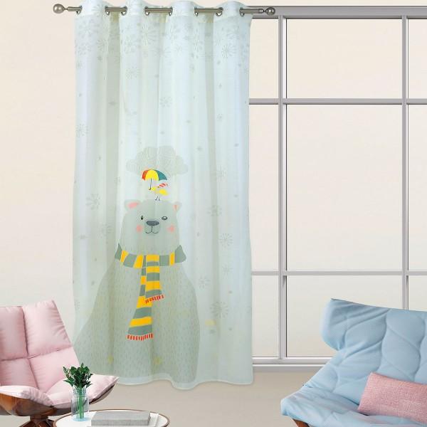 Παιδική Κουρτίνα (140x280) Με Τρουκς Das Home 2066