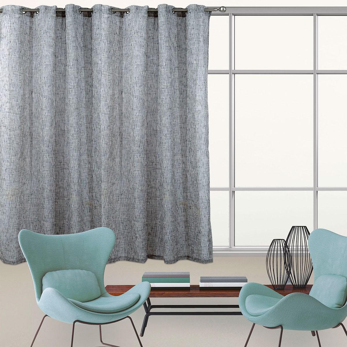 Κουρτίνα Με Τρουκς (300x280) Das Home 2076