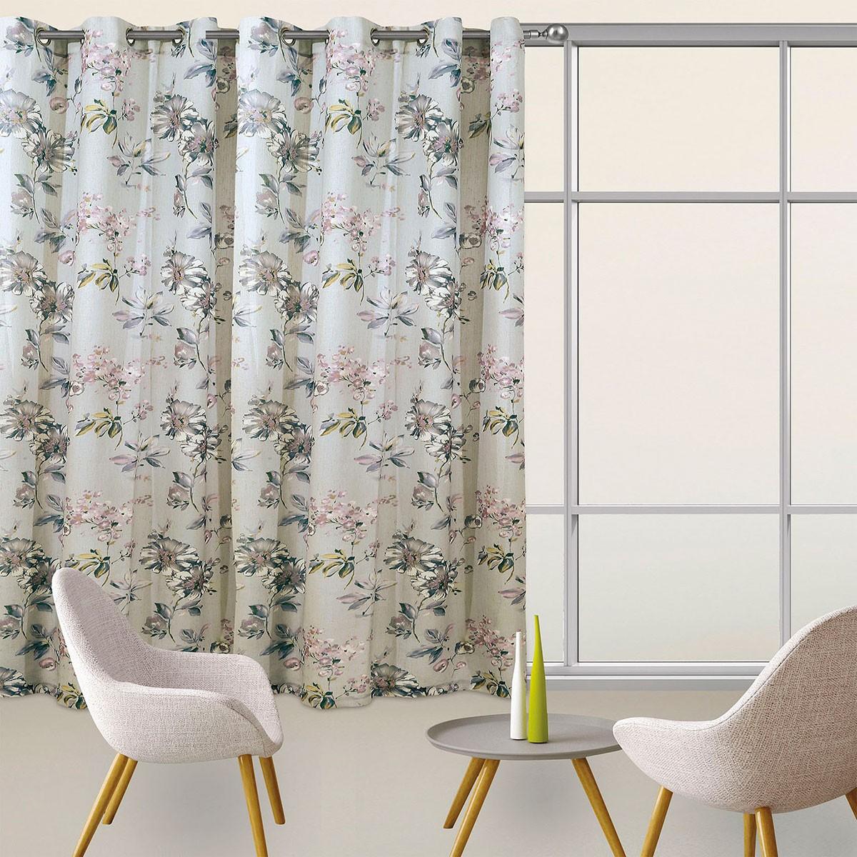 Κουρτίνα Με Τρουκς (300x280) Das Home 2077