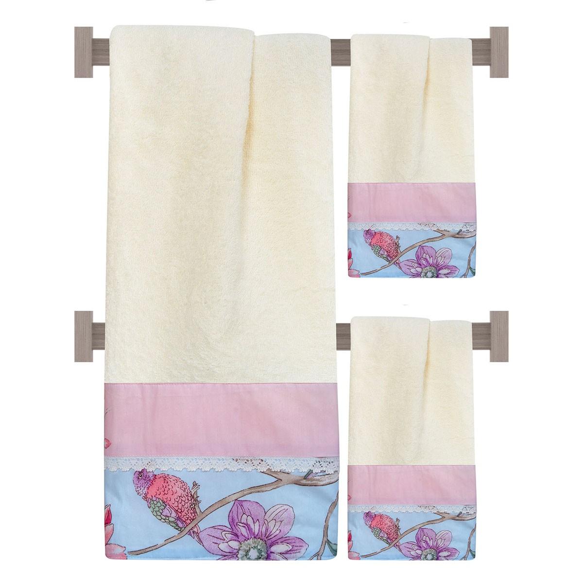 Πετσέτες Μπάνιου (Σετ 3τμχ) Das Home Prestige 285