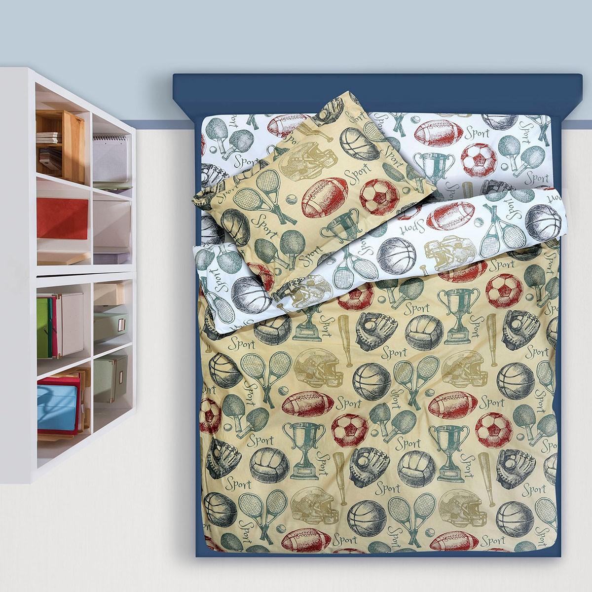 Σεντόνια Μονά (Σετ) Das Home Kid Prints 4568
