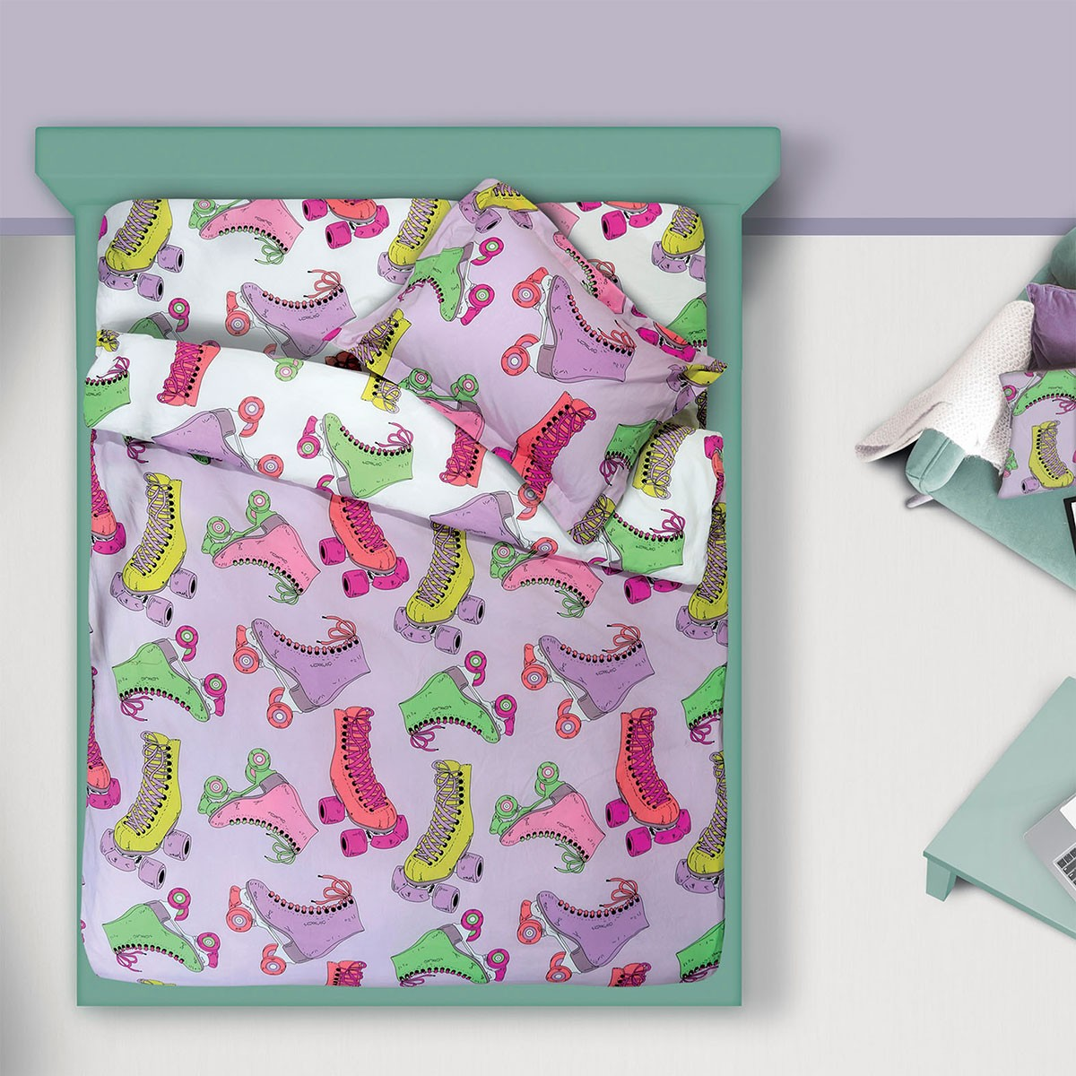 Πάπλωμα Μονό Das Home Kid Prints 4566