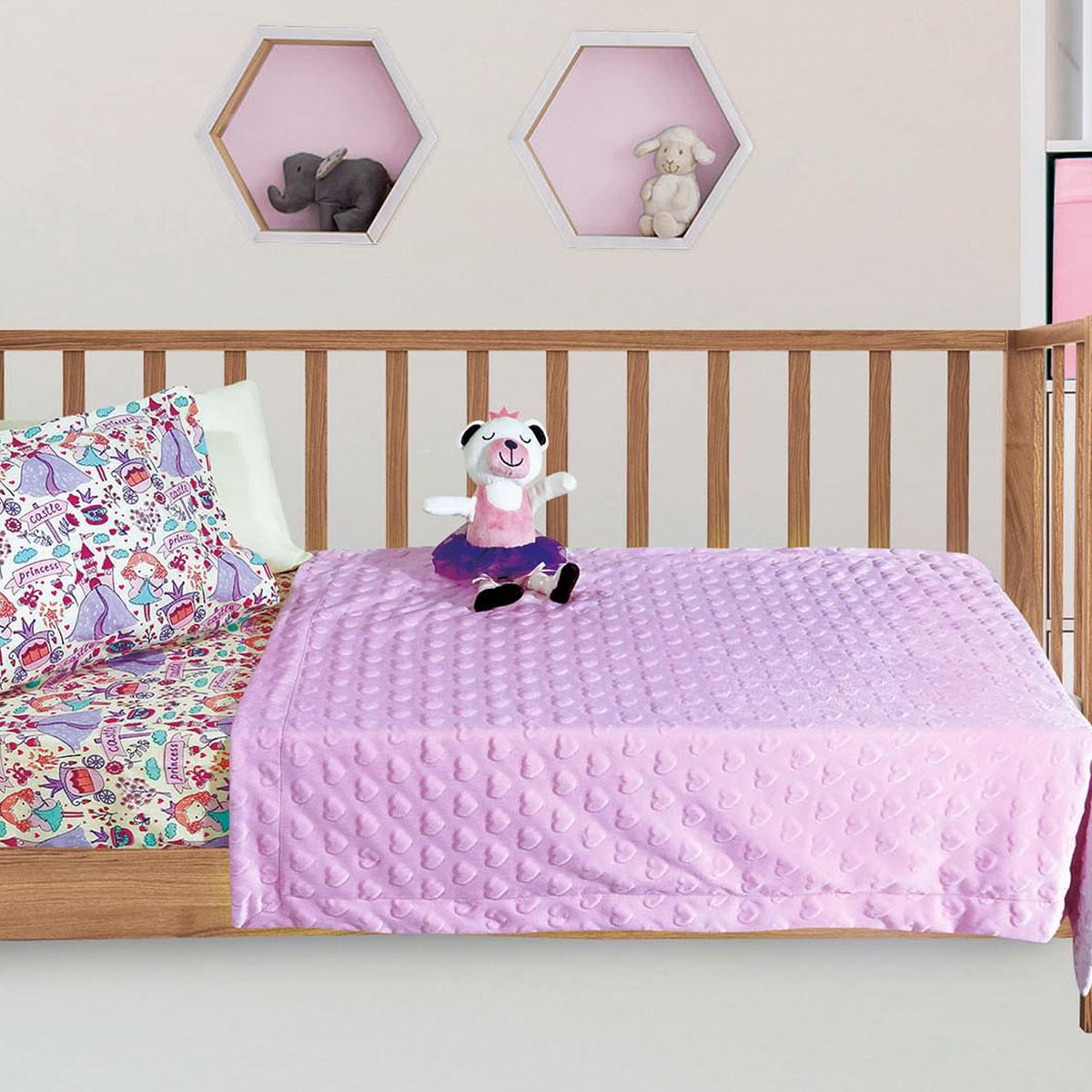 Κουβέρτα Fleece Κούνιας Das Home Relax Line 6364