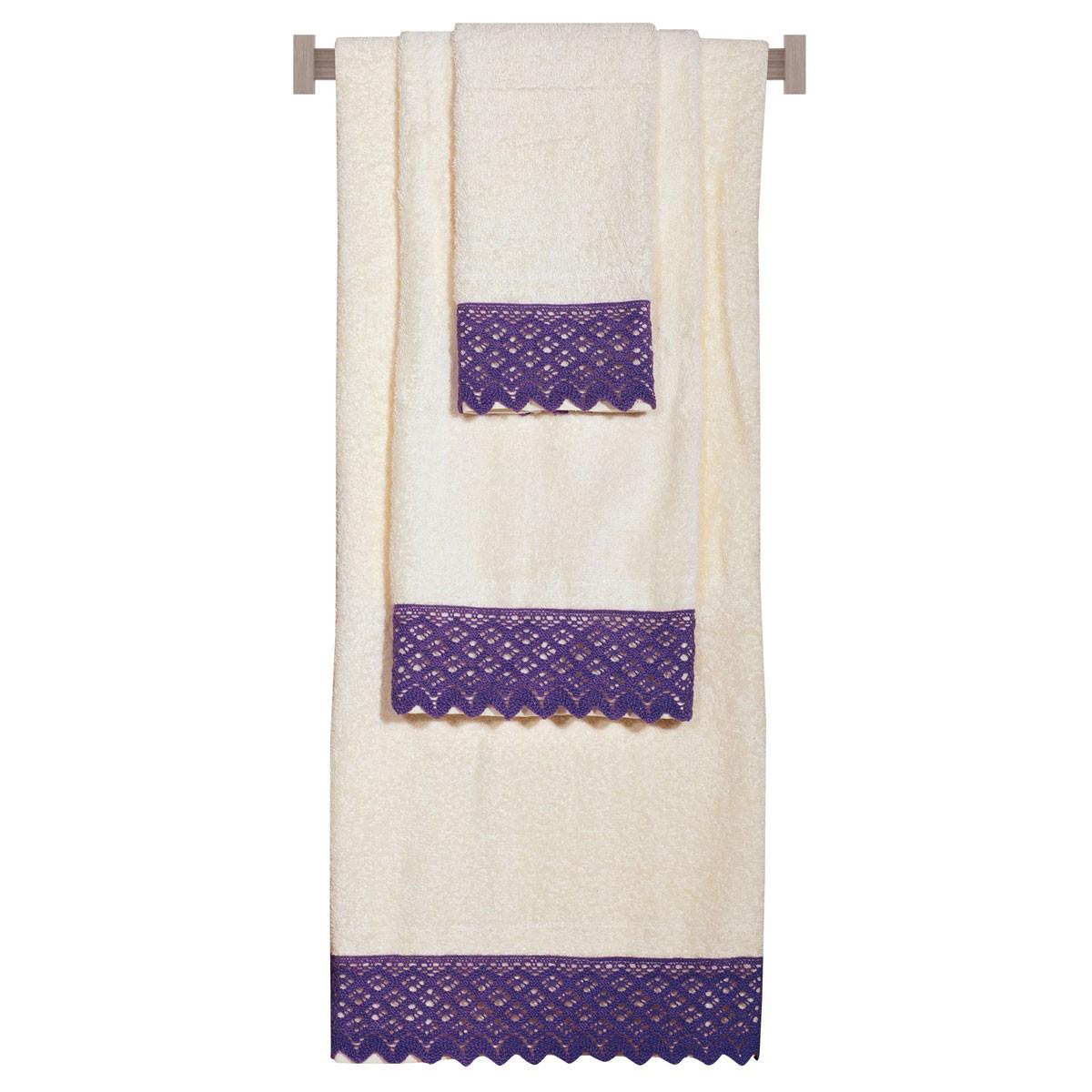 Πετσέτες Μπάνιου (Σετ 3τμχ) Das Home Daily 295