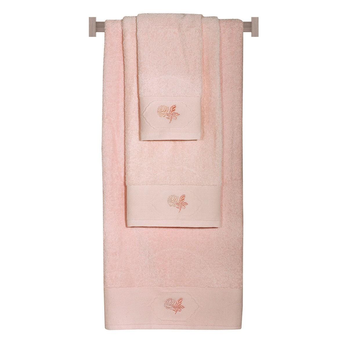 Πετσέτες Μπάνιου (Σετ 3τμχ) Das Home Happy 299