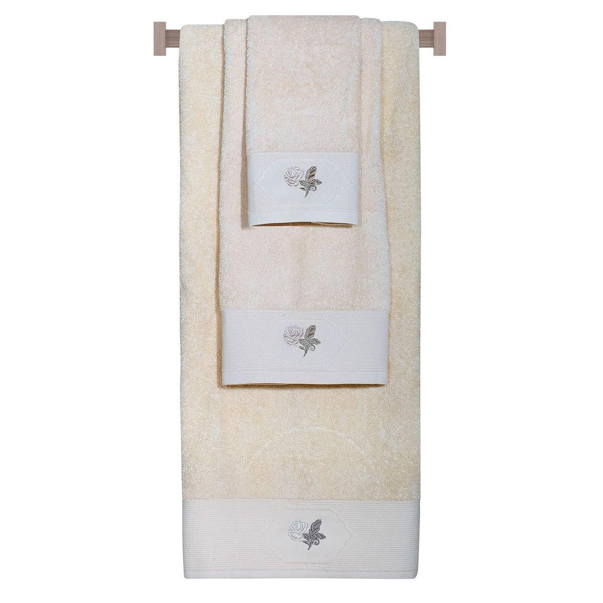 Πετσέτες Μπάνιου (Σετ 3τμχ) Das Home Happy 301