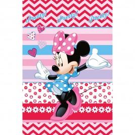Κουβέρτα Βελουτέ Μονή Limneos Disney Minnie