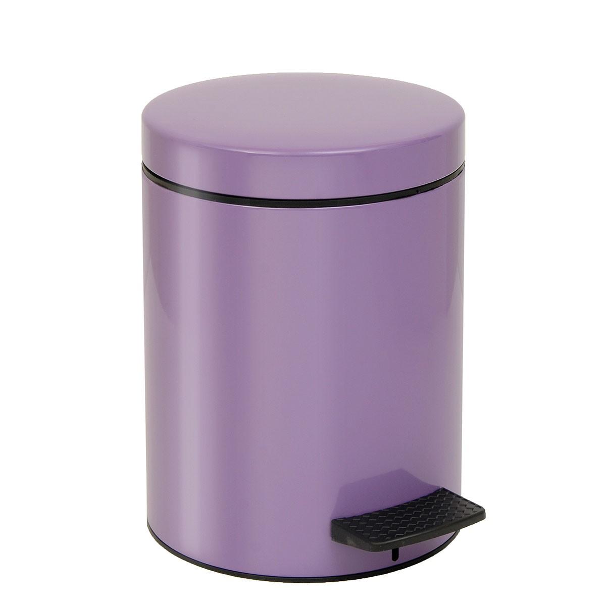Κάδος Απορριμάτων (20×28) PamCo 5Lit 05-096-973 Lilac