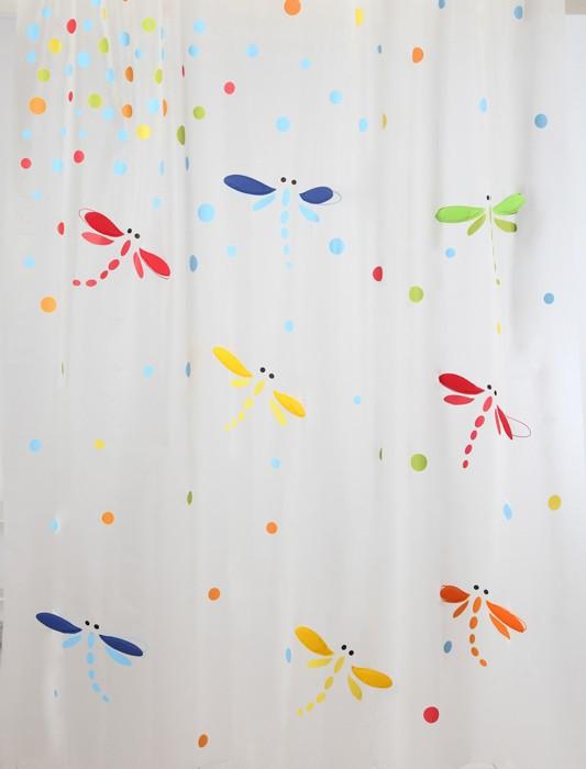 Κουρτίνα Μπάνιου Πλαστική (180x200) Palamaiki Happy