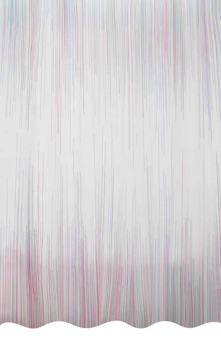 Κουρτίνα Μπάνιου Πλαστική (180×200) Palamaiki Lines