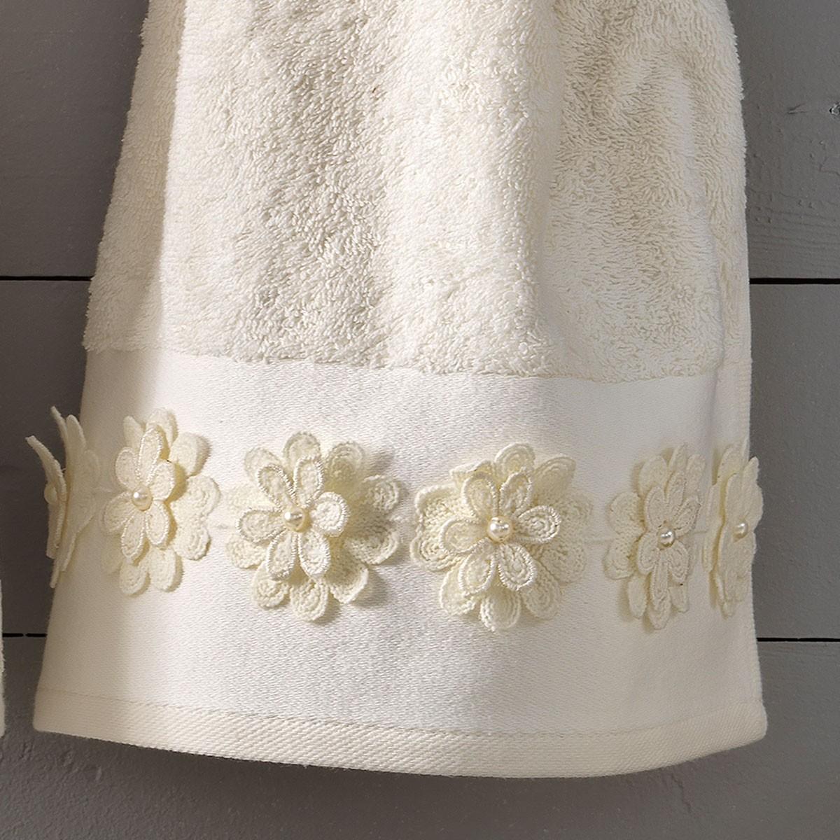 Νυφικές Πετσέτες (Σετ) Palamaiki Cleo