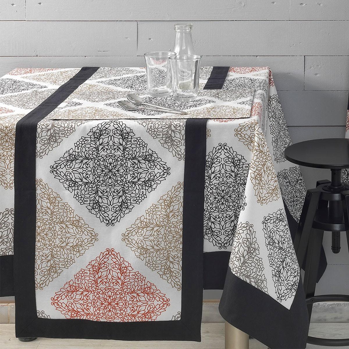 Τραπεζομάντηλο (150×150) Palamaiki Kitchen TP121/Taupe