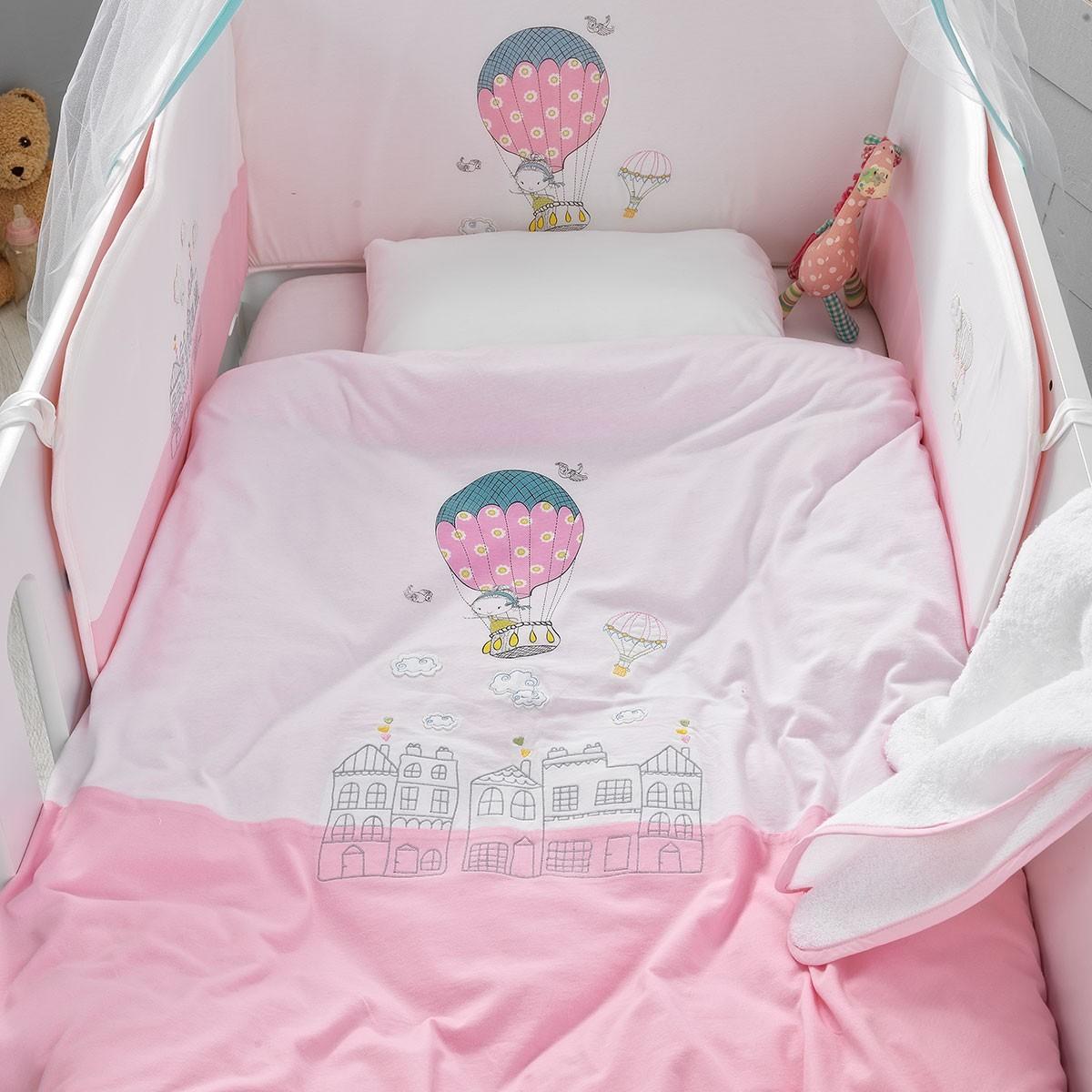 Σετ Κούνιας 5τμχ Palamaiki Baby Comfort Ballon