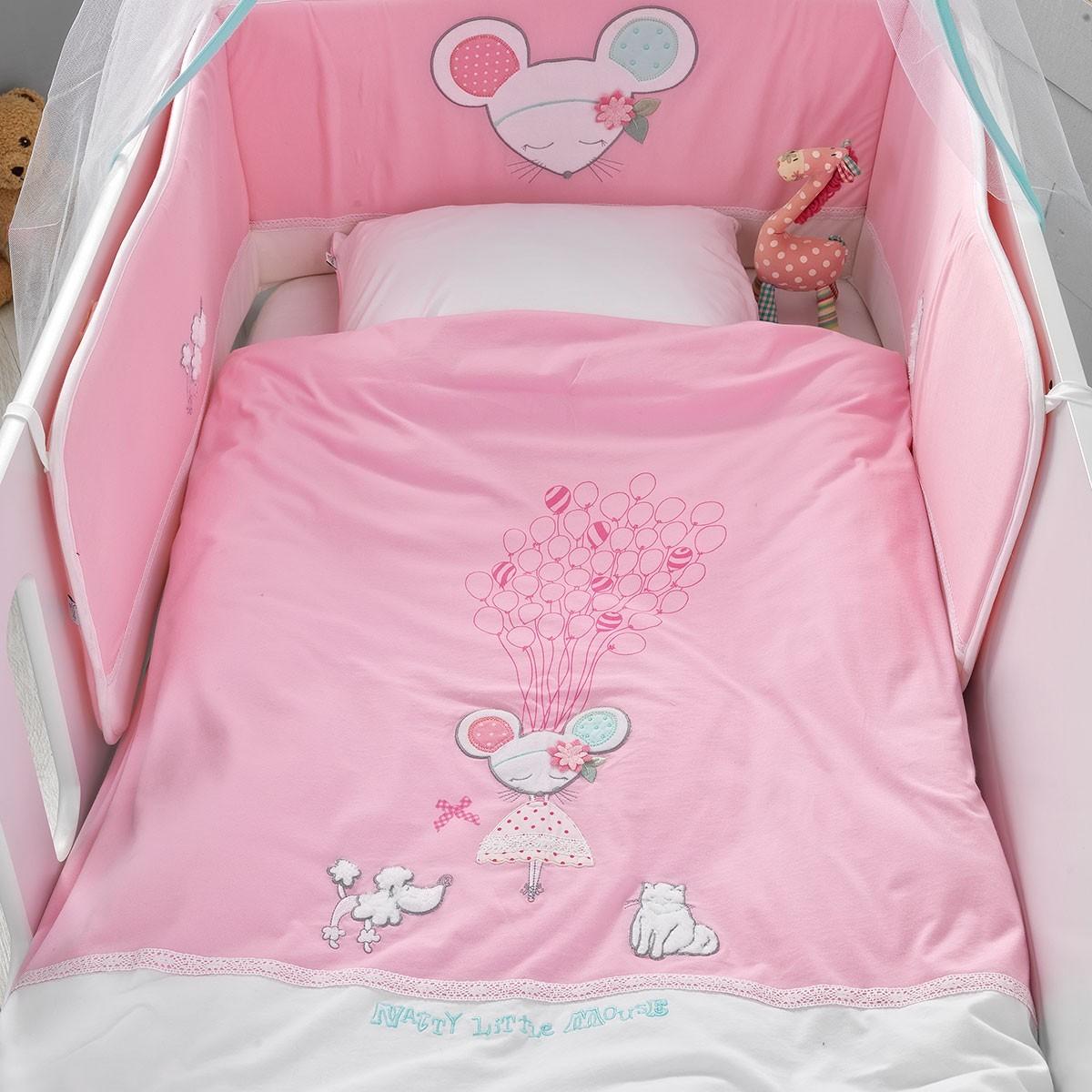 Σετ Κούνιας 5τμχ Palamaiki Baby Comfort Dolly home   βρεφικά   σετ κούνιας