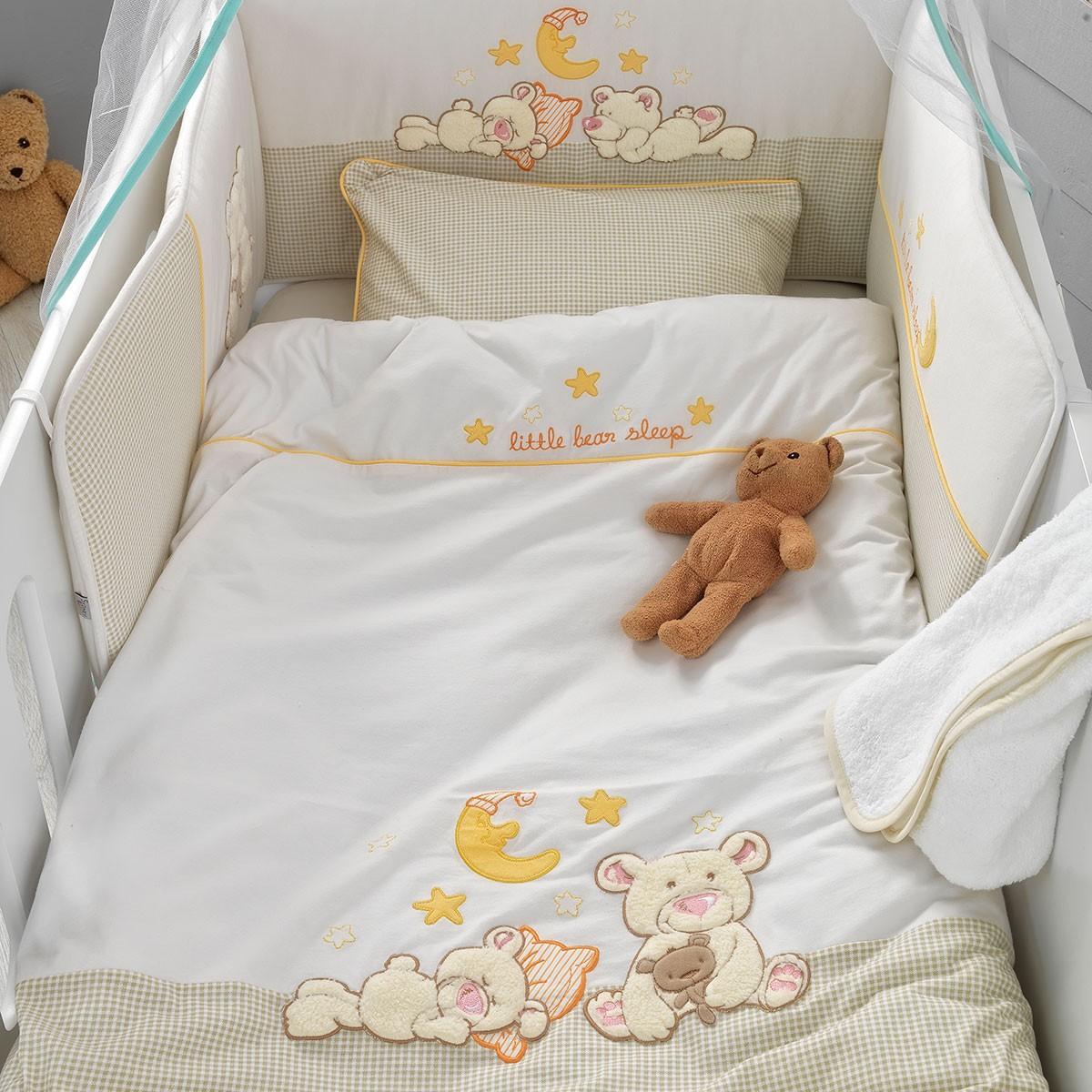 Σετ Κούνιας 5τμχ Palamaiki Baby Comfort Little Bear